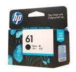 HP #61 Black Ink CH561WA
