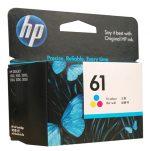 HP 61 Tri Colour Ink CH562WA