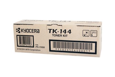 Kyocera TK144 Black Mono Toner Cartridge Kit