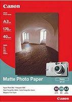 Canon A3 Matte Inkjet Photo Paper 40 pack 170gsm MP101A3