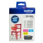 GENUINE Brother LC3319 C M Y HY Colour Pack