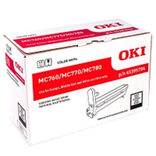 GENUINE Oki MC770 MC780 Black Imaging Drum Unit 45395708