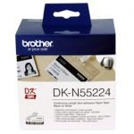 Brother DKN-55224 54mm Non-Adhesive Label Continuous 30.48m Roll