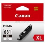 GENUINE Canon 681XL Black High Yield Ink Tank Cartridge CLI681XLBk