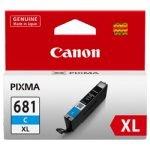 GENUINE Canon 681XL Cyan High Yield Ink Tank Cartridge CLI681XLC