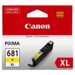 GENUINE Canon 681XL Yellow High Yield Ink Tank Cartridge CLI681XLY