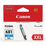 Canon 681XXL Cyan Extra High Yield Ink Tank Cartridge CLI681XXLC