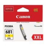 Canon 681XXL Yellow Extra High Yield Ink Tank Cartridge CLI681XXLY