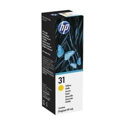 GENUINE HP 31 Yellow Ink Refill Bottle 1VU28AA 70ml