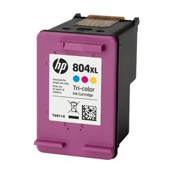 GENUINE HP 804XL High Yield Colour Ink Cartridge T6N11AA