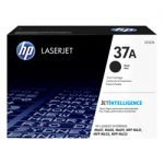 GENUINE HP 37A Black Mono Toner Cartridge CF237A