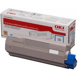 Oki C712N Cyan Toner Cartridge 46507611