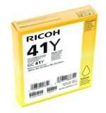 GENUINE Ricoh GC41Y 3100 7100 Yellow Copier Toner Cartridge 405764