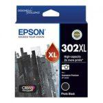GENUINE Epson 302XL Photo Black High Yield Ink Cartridge T01Y192