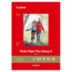 Canon A4 PP301 Photo Plus Glossy Inkjet Photo Paper 20 pack