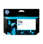 HP 728 Cyan Ink Tank Cartridge F9J67A 130ml