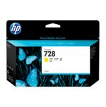 HP 728 Yellow Ink Tank Cartridge F9J65A 130ml