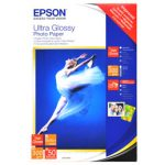 Epson 4x6 Ultra Gloss Inkjet Photo Paper 300gsm 50 Pack S041943
